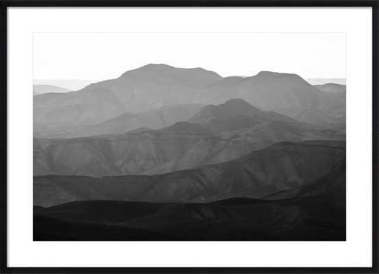 """Mountains of the Judean Desert by Tal Paz-Fridman, 43"""" x 31"""" - Artfully Walls"""