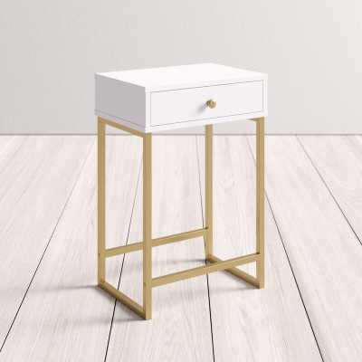 Evelyn End Table with Storage - AllModern