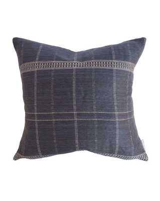 "GIBSON PILLOW WITHOUT INSERT, 20"" x 20"" - McGee & Co."