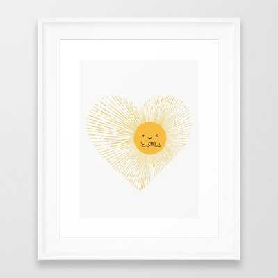 You are the Sunshine of my heart Framed Art Print by ilovedoodle - Society6