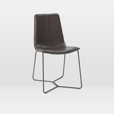 Slope Leather Dining Chair - West Elm