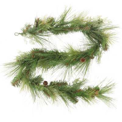 6' Christmas Unlit Cedar Pinecones Artificial Garland - Wondershop™ - Target