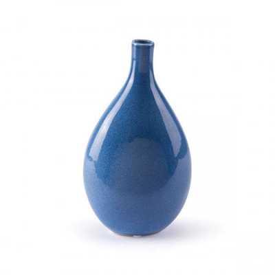 Cobalt Sm Vase Blue - Zuri Studios