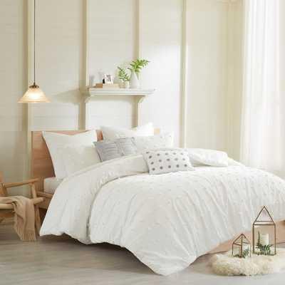 Aiden Cotton Duvet Set - Wayfair