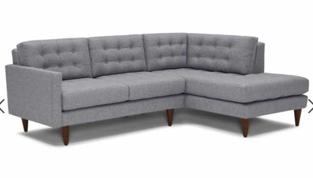 Eliot Apartment Sectional with Bumper - Joybird
