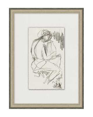 FIGURE SKETCH Framed Art - McGee & Co.