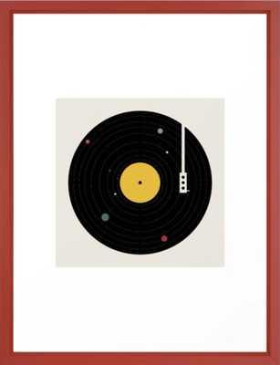 Music Everywhere Framed Art Print - Society6