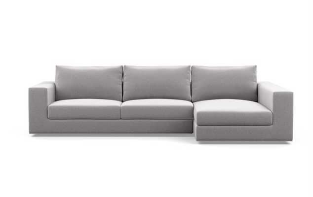 Walters Custom Sectional Sofa - Sectional Sofa with Right Chaise - Interior Define