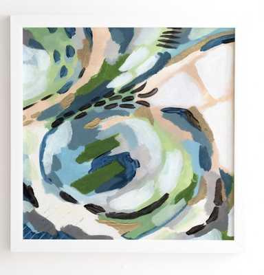"GREENERY Framed Wall Art - 12"" x12"" - Wander Print Co."
