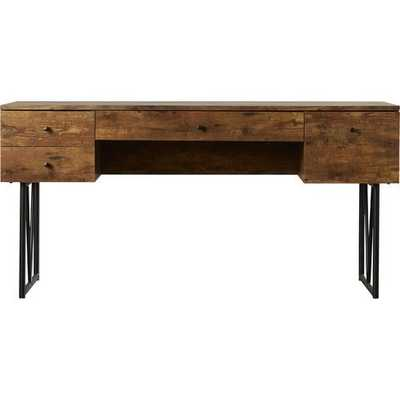 Fallon 4 Drawer Desk - Wayfair