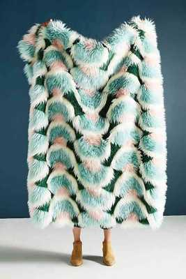 Juniper Faux Fur Throw Blanket - Anthropologie