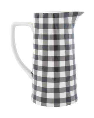 GINGHAM PITCHER - McGee & Co.