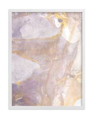 Soft Shimmer No. 1 Art Print - 18 x 24 - White Wood Frame - Minted