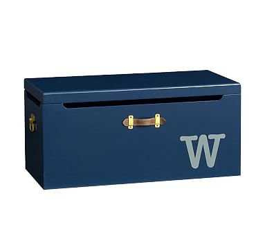Tucker Toy Chest, Midnight Navy - Pottery Barn Kids
