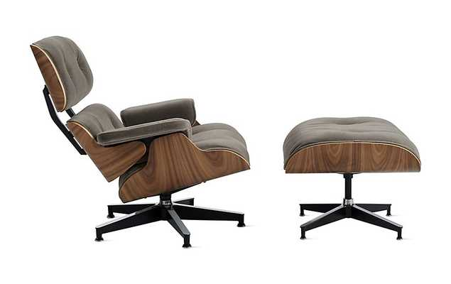 Eames® Lounge Chair and Ottoman, standard - Design Within Reach