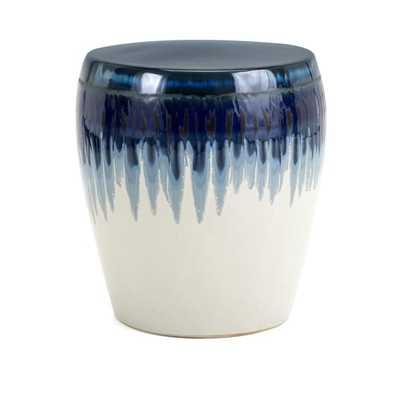 Hamako Ceramic Garden Stool - Mercer Collection