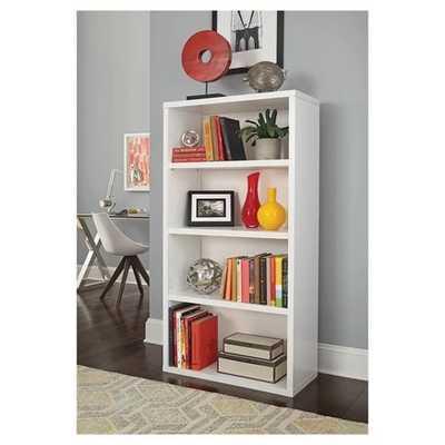 "4 Shelf Bookcase - 58"" - White - ClosetMaid - Target"