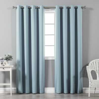 Solid Blackout Thermal Grommet Curtain Panels - AllModern