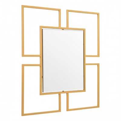 Cuatro Mirror Gold - Zuri Studios