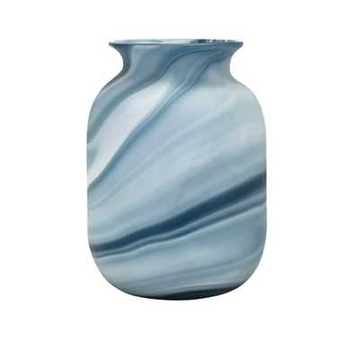 Compass Small Glass Vase - Mercer Collection