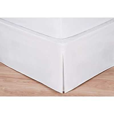 Wrap-Around Wonderskirt King Bed Skirt in White - Bed Bath & Beyond
