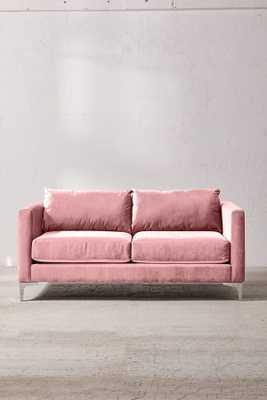 Chamberlin Velvet Love Seat - Urban Outfitters