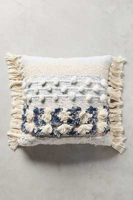 All Roads Marisol Pillow - Blue - Anthropologie