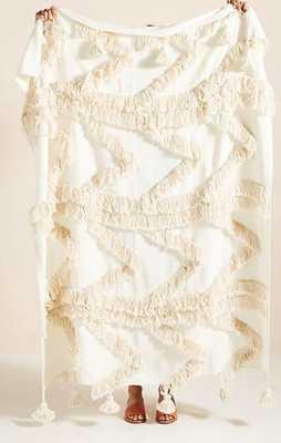 Fringe Bay Throw Blanket - Anthropologie