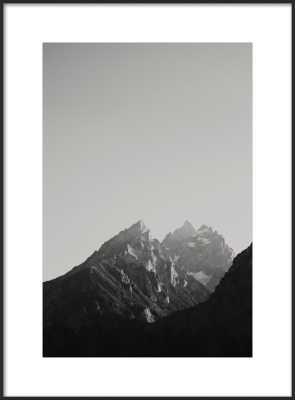 """Chasing Light - 20x28"""" - Matte Black Metal Frame with Matte - Artfully Walls"""