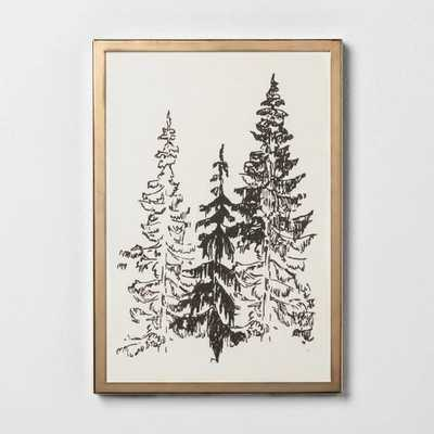 Framed Art Trees 8x11'' - Hearth & Hand™ with Magnolia - Target