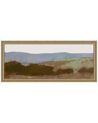ABSTRACT LANDSCAPE 1 Framed Art - Large - McGee & Co.