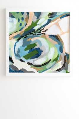 GREENERY Framed Wall Art By Laura Fedorowicz - Wander Print Co.