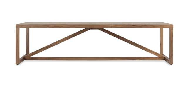 Strut Wood Coffee Table - BluDot