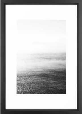 Whitewash Framed Vector Black Art Print - Society6