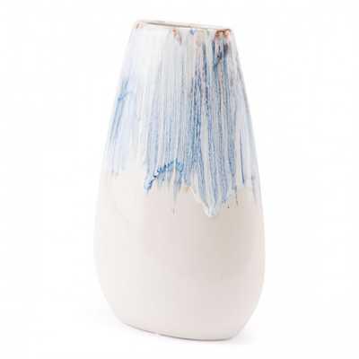 Ombre Md Vase Blue & White - Zuri Studios