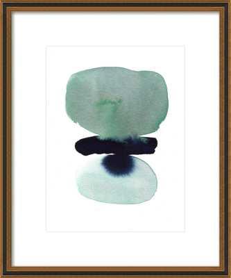 "zen stack 16""x20"", with matte - Artfully Walls"