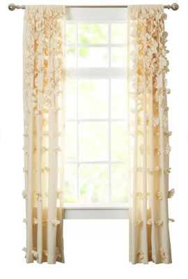 Clarkstown Solid Sheer Rod Pocket Single Curtain Panel - Wayfair