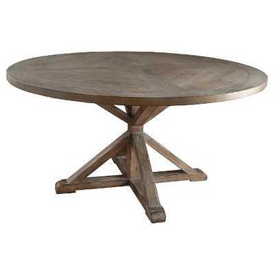 Sierra Round Dining Table Wood/Brown - Target