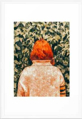 "Surprise Visit Art Print - 83Oranges-26"" by 38""  - framed art print - Society6"