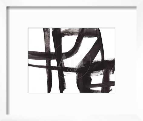 black-and-white-abstract-painting-2 - art.com