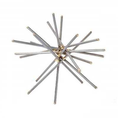 GOLD TIPPED SPIKE SCULPTURE - McGee & Co.