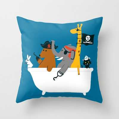 Everybody wants to be the pirate Throw Pillow // 16x16 // Indoor - Society6