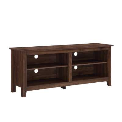 "Sunbury 70"" TV Stand with optional Fireplace - Wayfair"