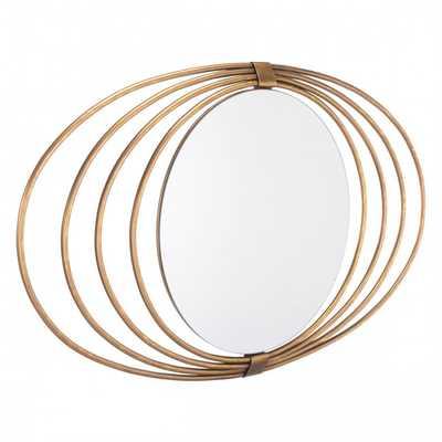 Eye Mirror Gold - Zuri Studios