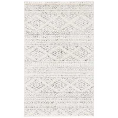 Remer Ivory/Gray Area Rug - Wayfair