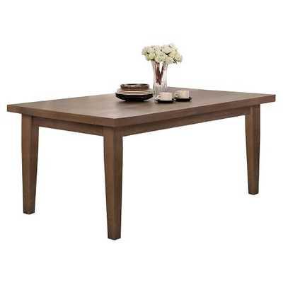 Ulysses Dining Table Wood/Weather Oak - Target