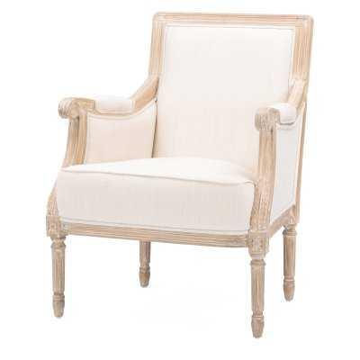 Baxton Studio Chavanon French Accent Chair - Hayneedle