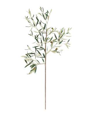 FAUX TUSCAN OLIVE STEM - McGee & Co.