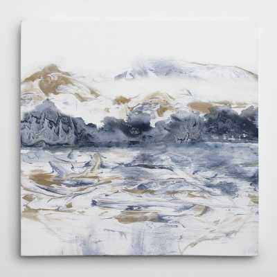 'Marblescape' Print on Canvas - Wayfair