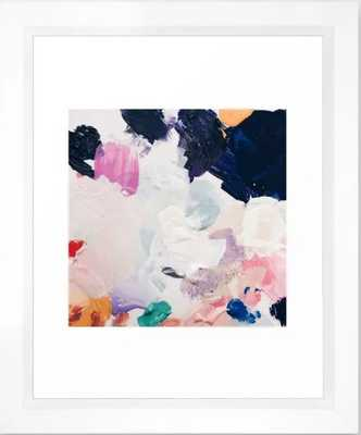 Rue - Vector white Frame - Society6